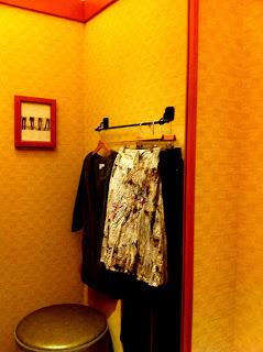 """Behind """"Dressing Room"""" Doors"""
