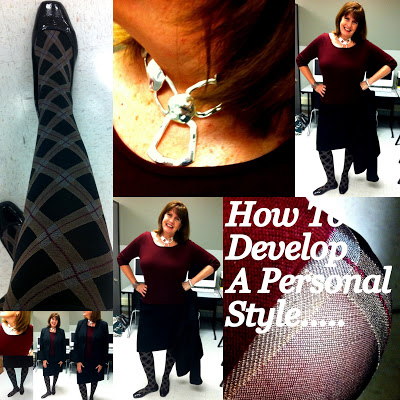 Colored Tights: It's OK to Break Some Rules
