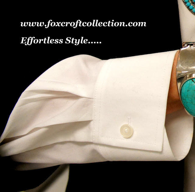 Introducing Foxcroft Collections….and my little DIY necklace!!