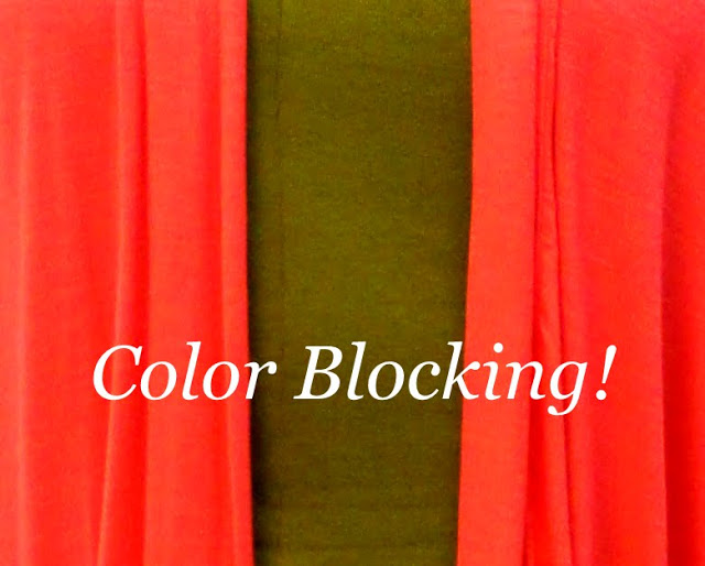 Color Blocking …Bring It On! (And The WInner Is,,,)