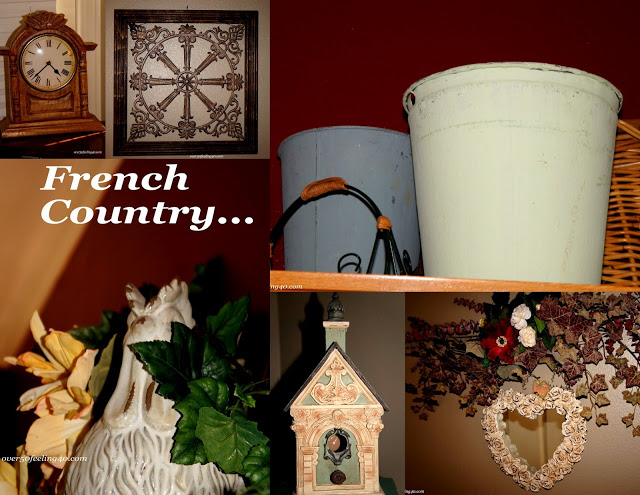Parisian Influences:  French Country Decorating