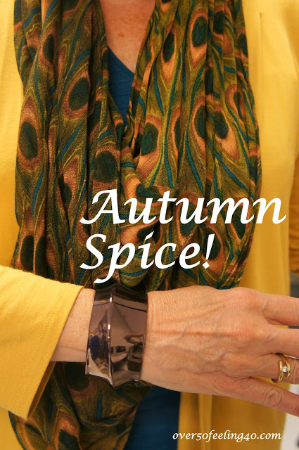 Wearing Autumn Spices!