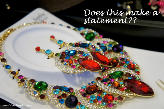 Statement Necklaces…Do You or Don't You?