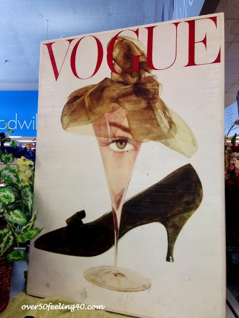 Goodwill Ideas:  A Fashion Bloggers Office!!