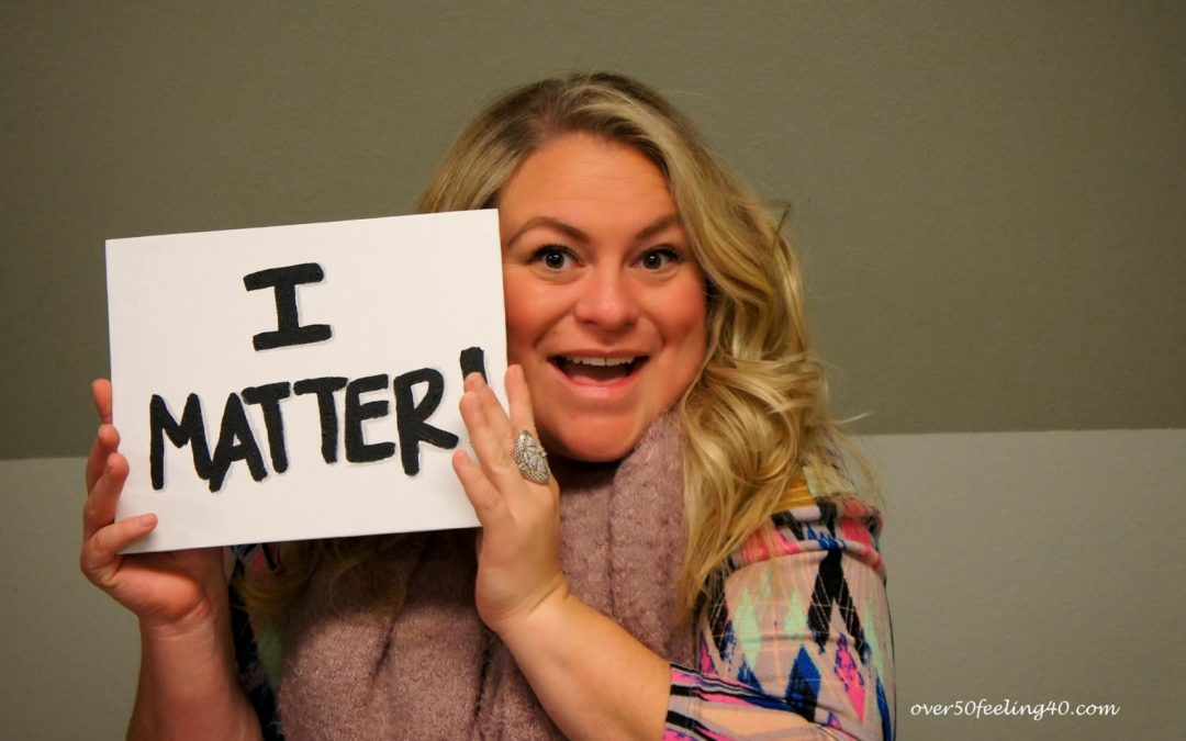 From Negativity to I MATTER,,,,and the Thursday Blog Hop!
