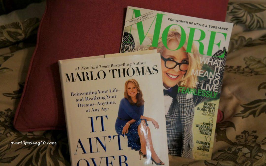 Marlo Thomas, Diane Keaton…Inspirational Reads!