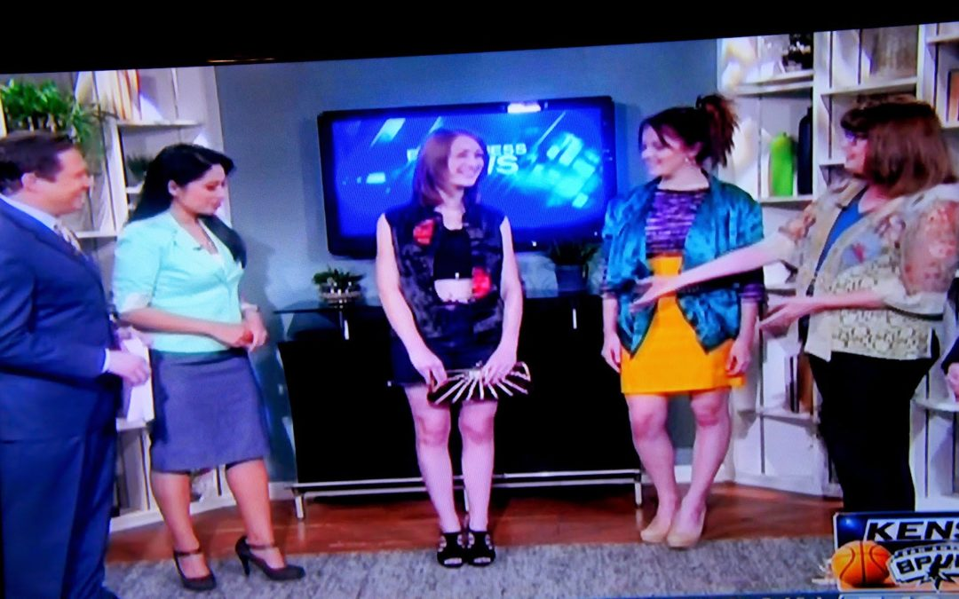 Watch My Goodwill Television Appearance and Fashion Show Promotion!