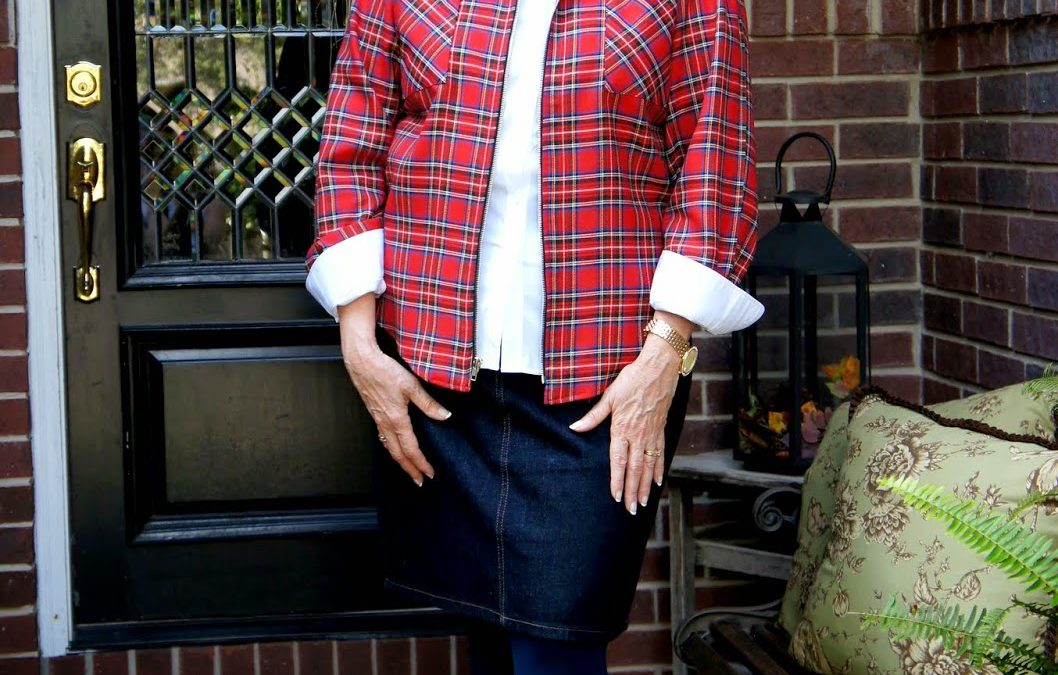 Goodwill Hunting: A Fall Trend…Plaid!