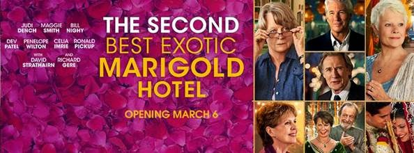 #LoveBlooms at the Second Best Exotic Marigold Hotel…and a $50 Giveaway!