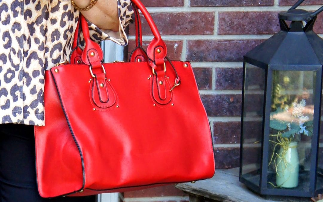 Robert Matthew Handbags:  Putting Color in Spring!
