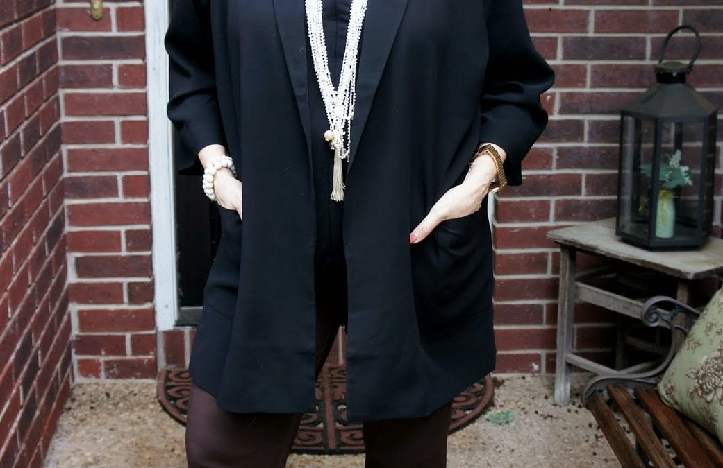 #OOTD: An Eileen Fisher Love Story and Fashion Flash!