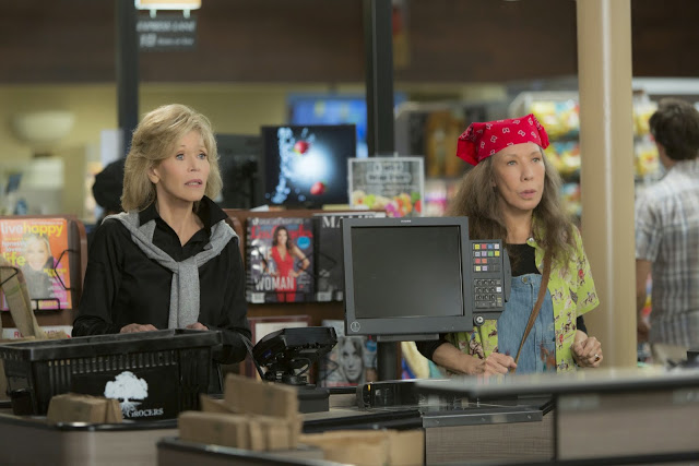 Fashion Lessons from Grace and Frankie on Netflix