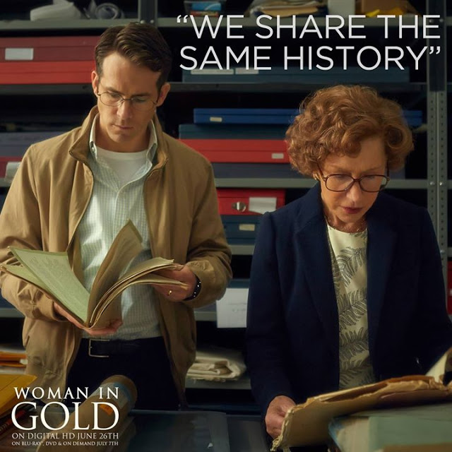 Woman In Gold: Win $50 VISA Card + A Movie….And The Thursday Blog Hop!