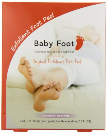 Baby Foot…My aching feet thank you!