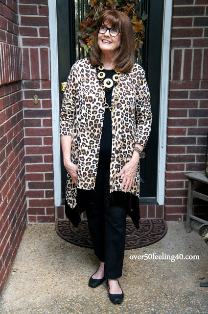 Rich in Leopard Print, Neutrals and Wood!
