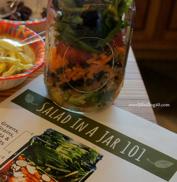 Salad In A Jar Party…Thursday Blog Hop…Both Time with Friends!
