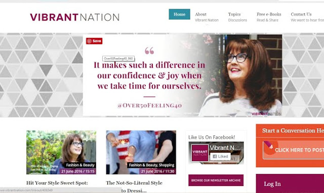 Vibrant Nation Featured Blogger