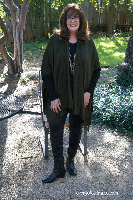 Comfort Fashion Over 50 for fun Grandmother Style