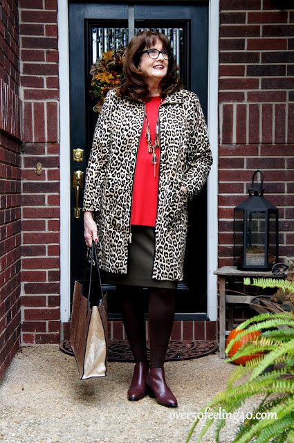 Chico's Leopard Jacket:  Perfect Fashion over 50