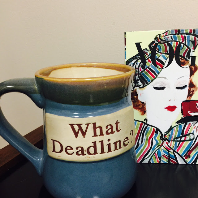 Dealing With Deadlines, Deadlines, Deadlines
