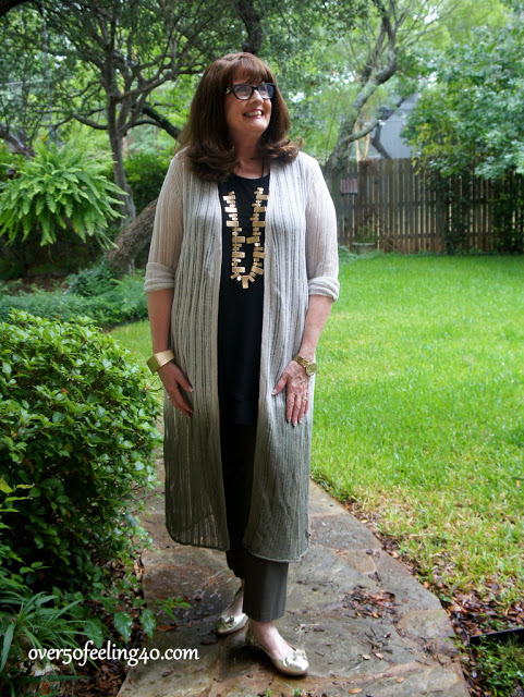Fashion Over 50: Another Casual, Comfy Look