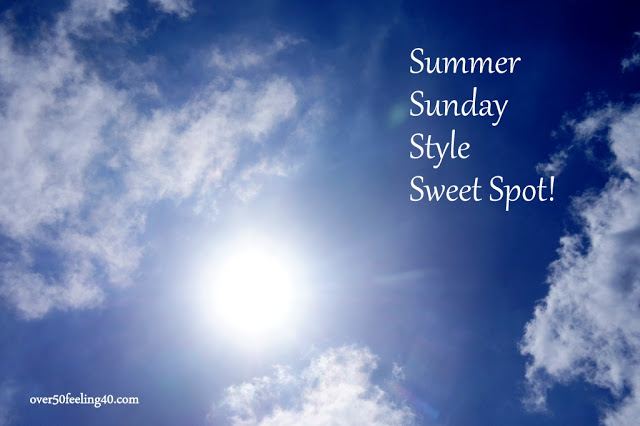 Fashion Over 50: Summer Sunday Style Sweet Spot with Black & White