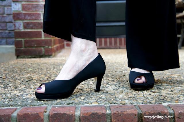 Adrian Allen Heels:  Amazing Comfort and Structure for Women Over 50