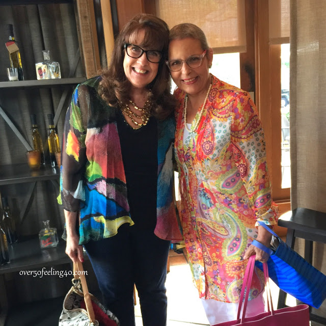 Fashion Over 50:  Lunch With A Friend of This Blog
