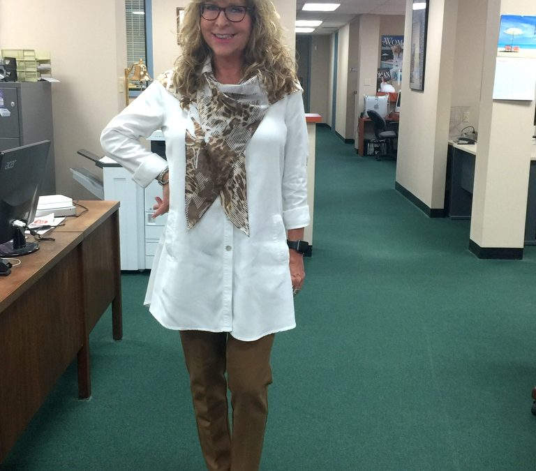 Fashion Over 50:  Style Sweet Spot for a Fall Transition