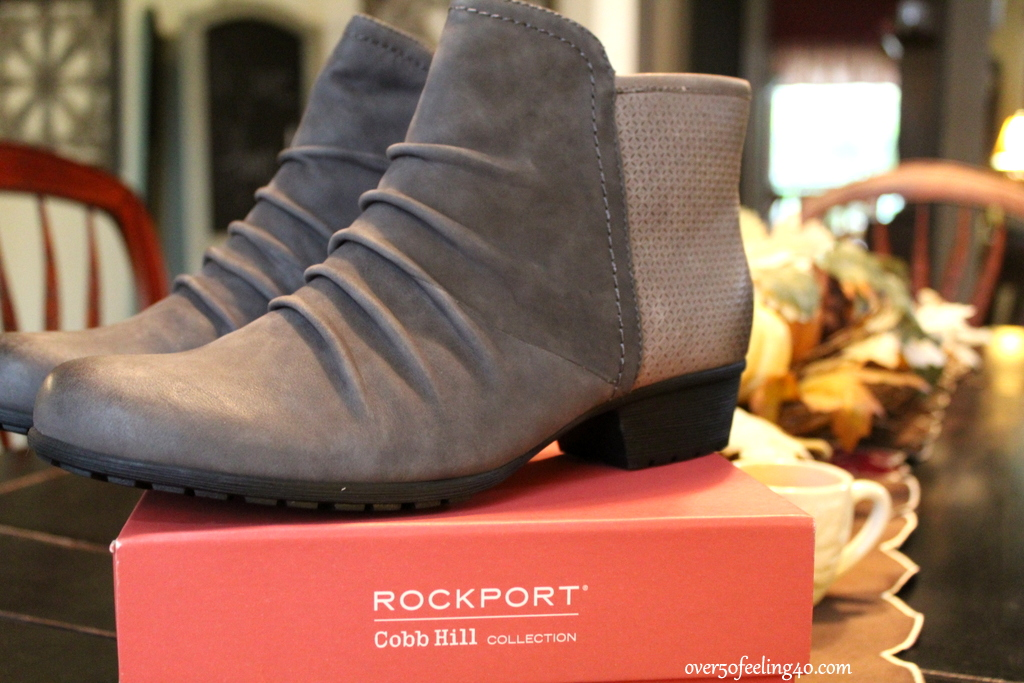 4e3a2d1a93b All I had to do was stick my hand inside of these Cobb Hill Gratasha Booties  by Rockport and I knew they would become one of my favorite cooler weather  ...