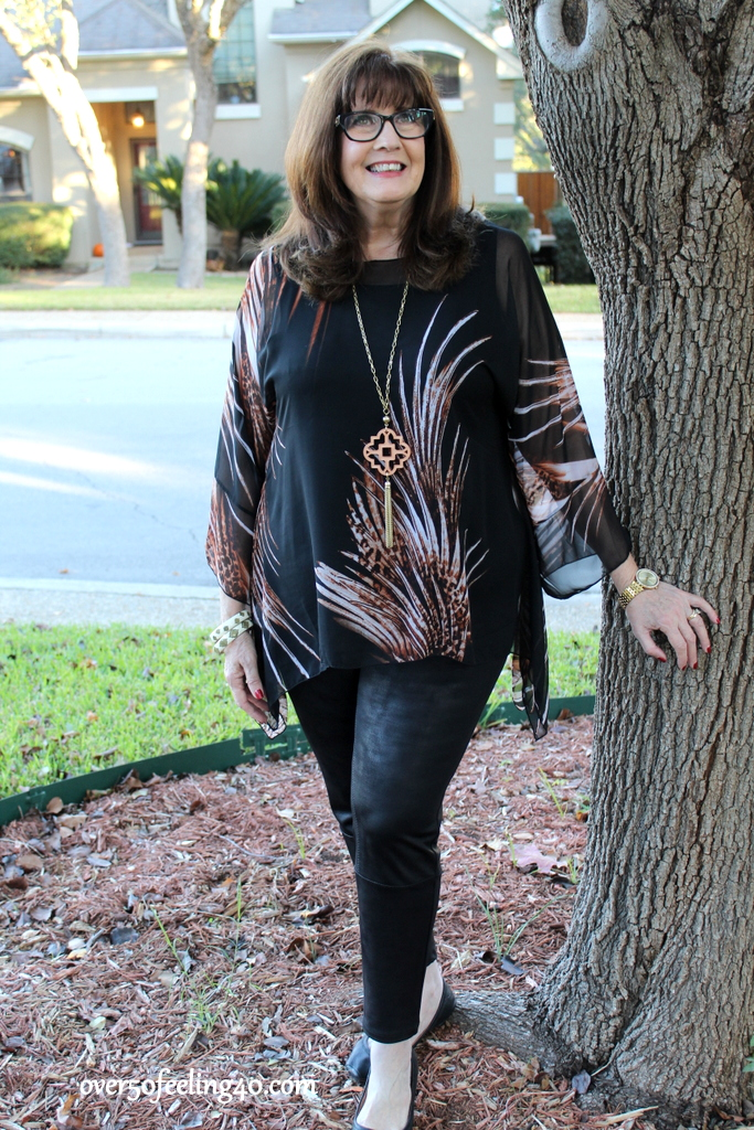 Faux Leather Leggings Over 50: Should We or Shouldn't We ...