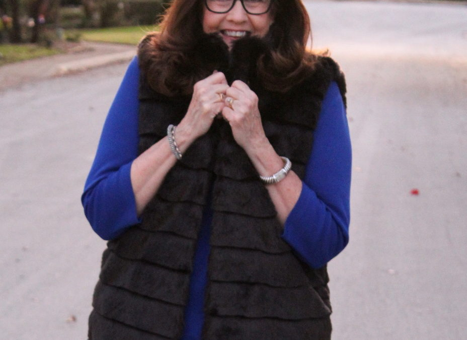 Style Sweet Spot Over 50 in Beautiful Outerwear