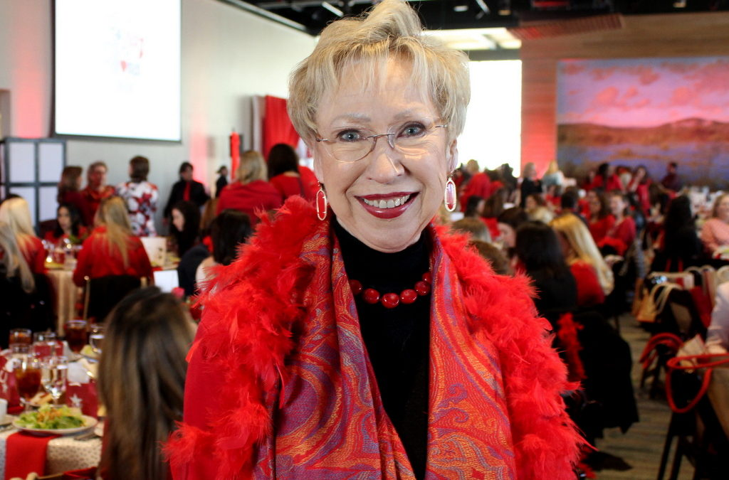 Fashion Over 50: Valentine's Day and Wearing Red