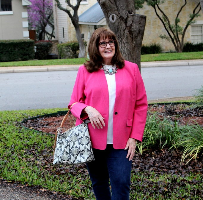 Fashion Over 50: Springtime, Color, and Talbots