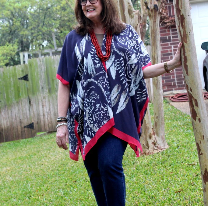 Fashion Over 50:  Thinking Kimonos and Closets