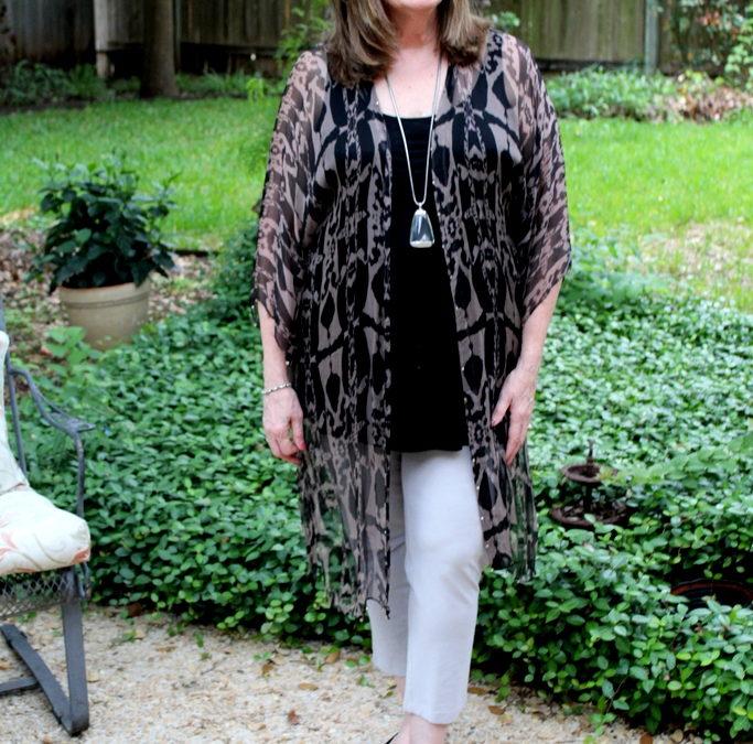 Kimonos: The Warm Weather Wardobe Workhorses Over 50