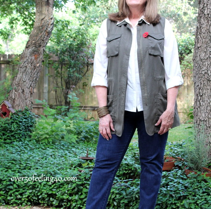 Fashion Over 50: How I Wear A Summer Vest
