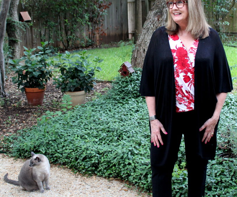 Fashion Over 50: Casual Black In Summer Months