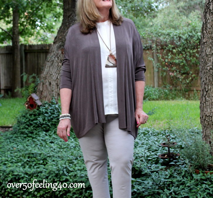 Fashion Over 50: Neutrals Which Carry Forward