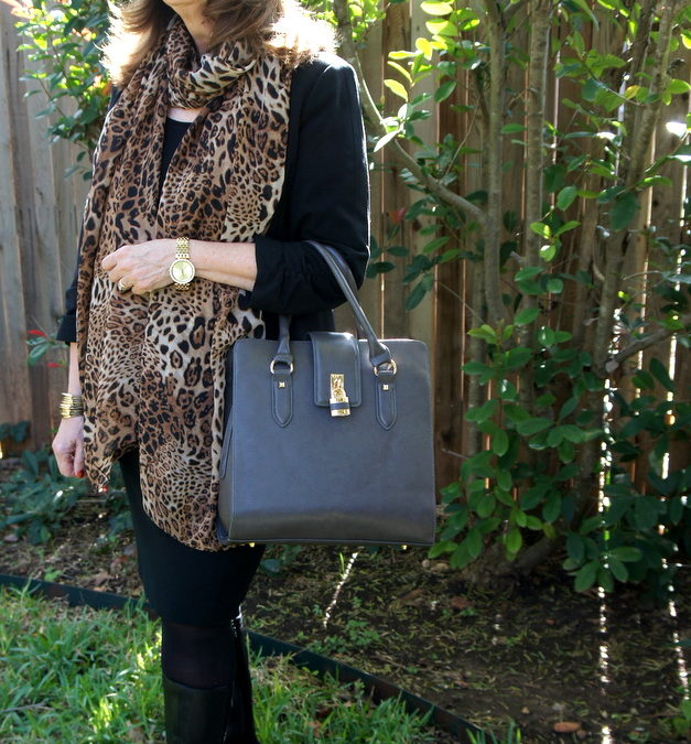 Fashion Over 50:  Just a Little Bit of Leopard……