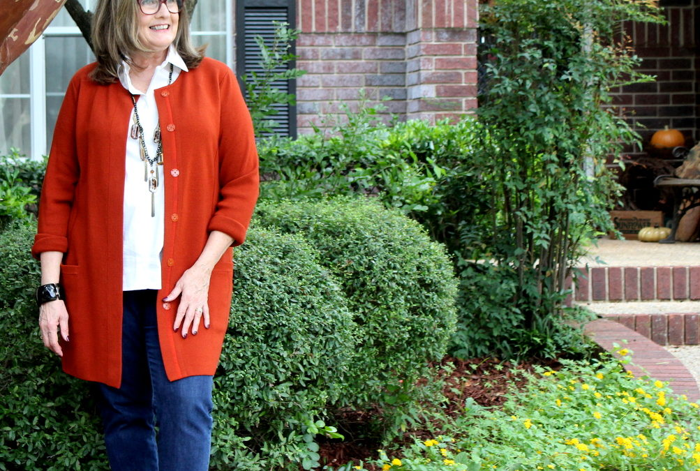 Fashion Over 50: Long Cardigans for Early Fall
