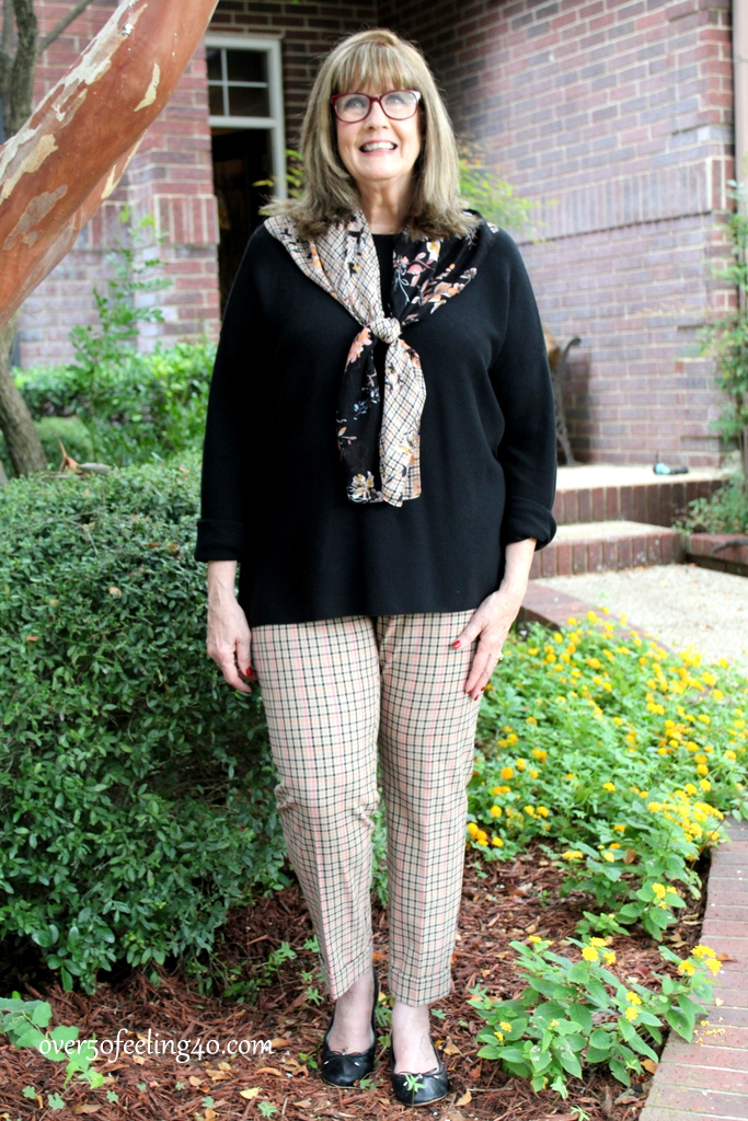 1de85f238fc4 I set aside a small budget for fall shopping and ended up spending it all  at JJill. This is my favorite look…I feel comfy and confident in this and  can mix ...