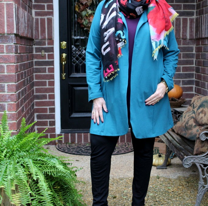 How to Style Trend Peacock Colors from Fall 2018