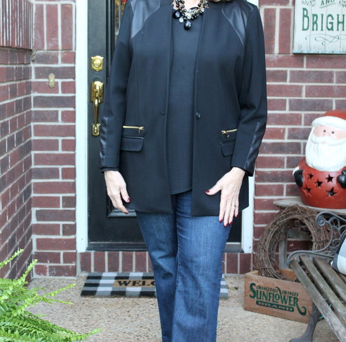 Jackets & Jeans – Look No 2  (With An Edge)