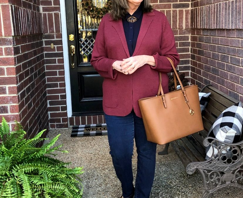 How to Style A Colorful Jacket – Look #1