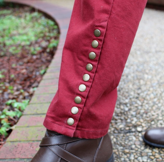 How to Style Red Pants with Reverence