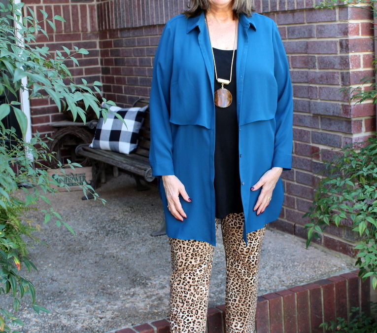Spring Transitions: Look #2 with Animal Prints