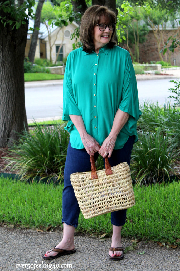 Summer Casual Style on Memorial Day | Over 50 Feeling 40