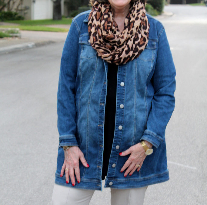 Fall Fashion Trends: Long Denim Jackets