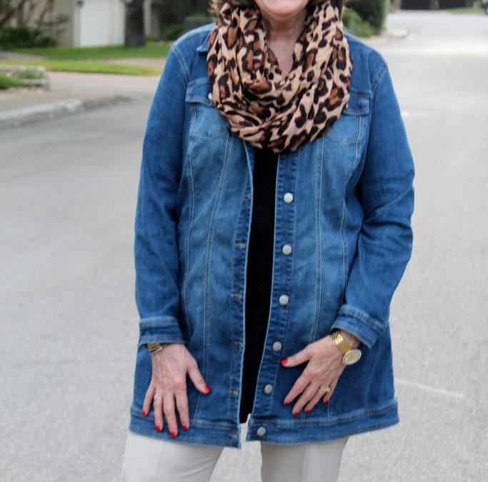 Fall Fashion Trends: Long Denim Jackets